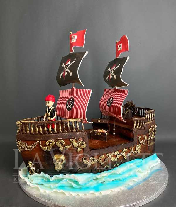 """Торт """"Пиратский корабль"""" №1148"""