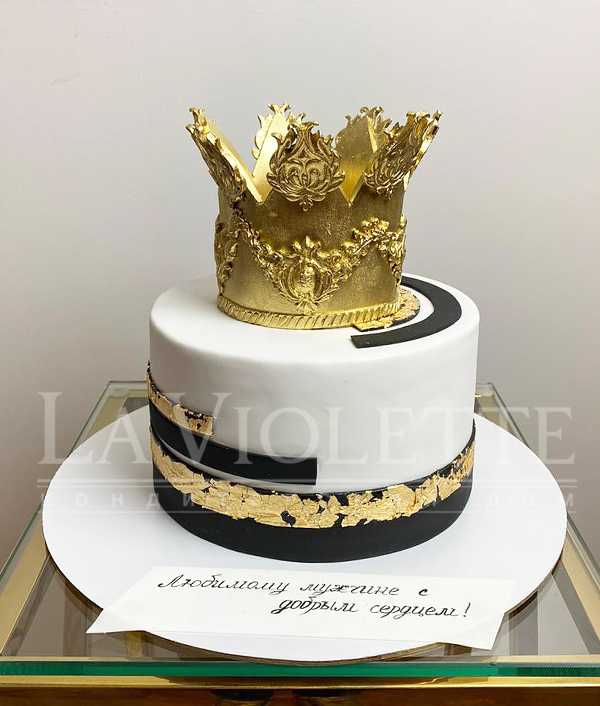 Торт с короной №1170