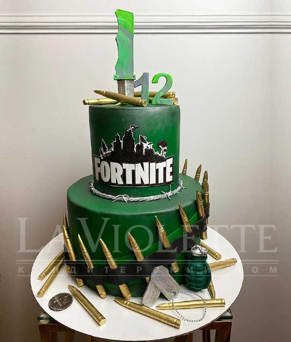 """Торт """"Милитари"""" №1168"""