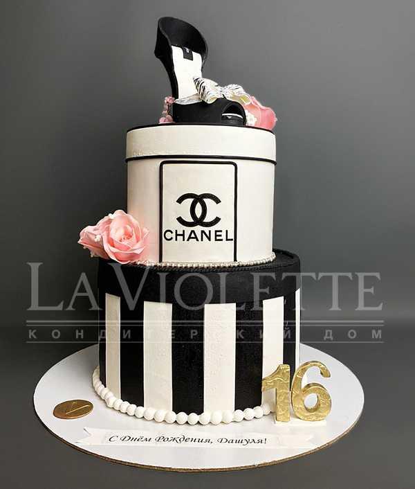 Торт Chanel №1187