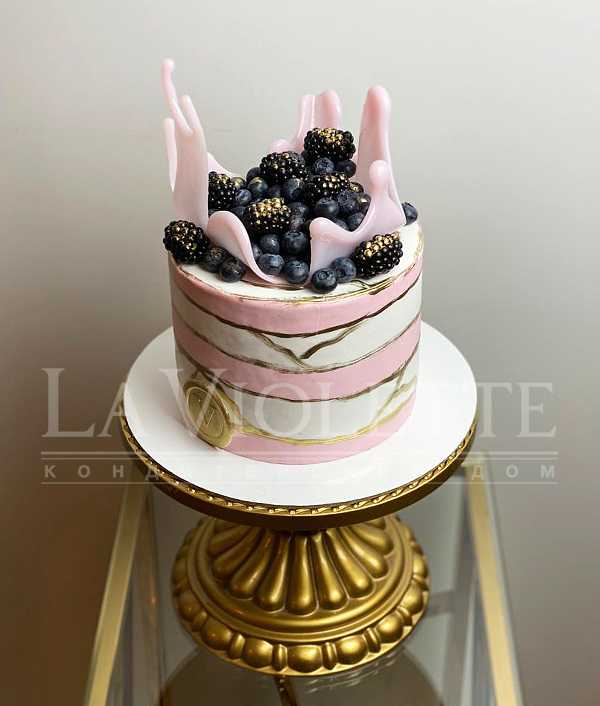 Торт с ягодами №1188