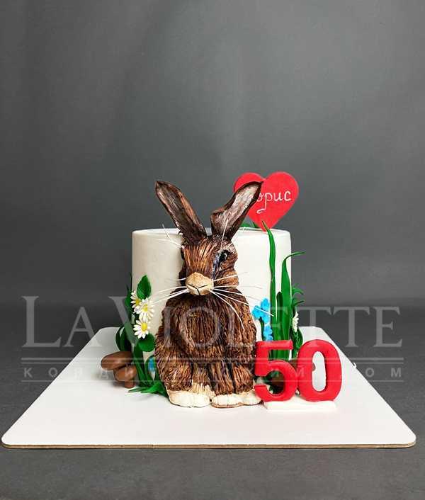 Торт с зайцем №1167