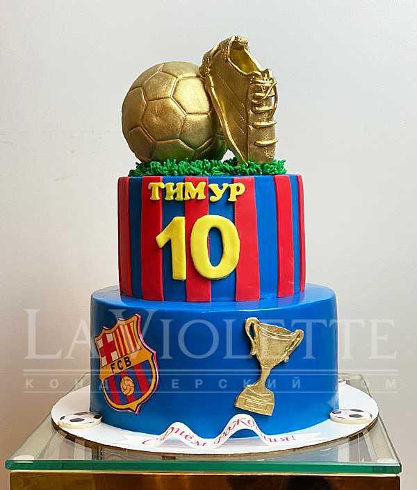 Торт футбольный №1169