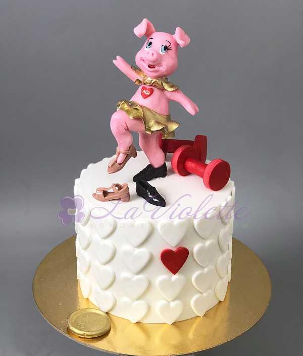 Торт Свинья №491