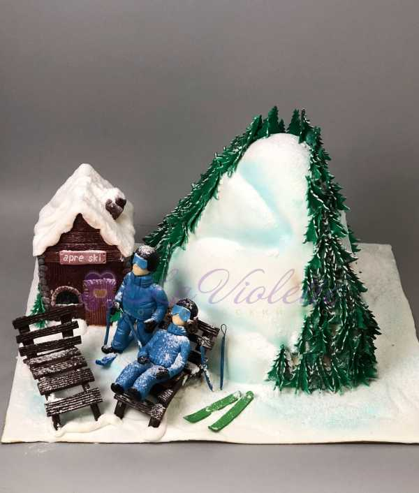 Торт для лыжников №522