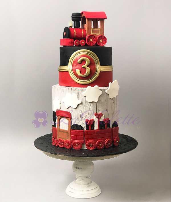 Торт Паровозик №525