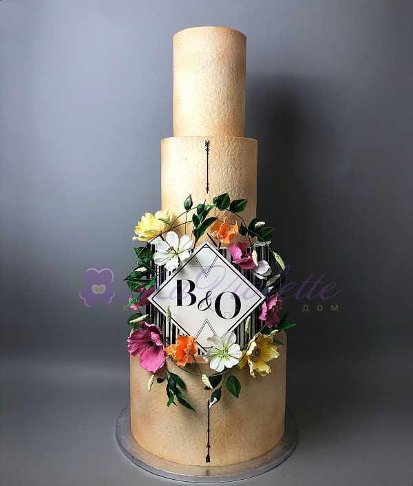 Свадебный торт №529