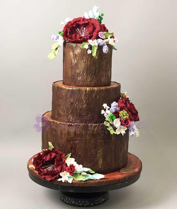 Торт в стиле Рустик №536