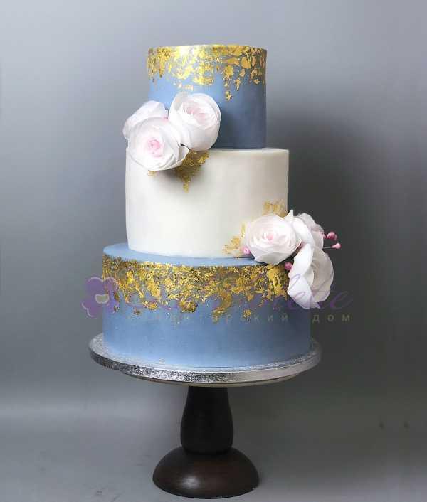 Торт с розами №541