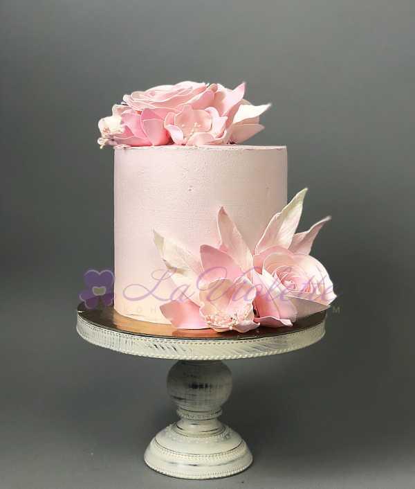 Торт с розами №556