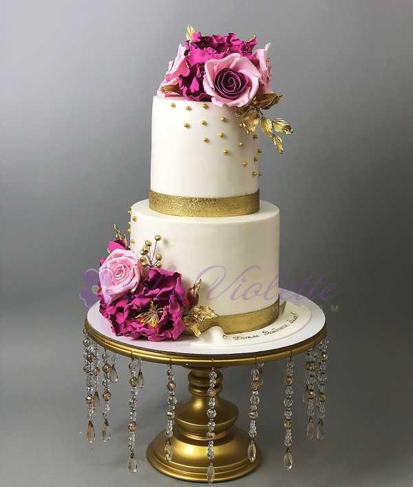 Торт с розами №559