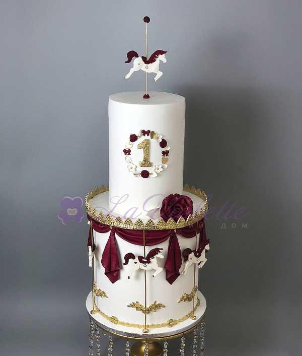 Торт с лошадками №564