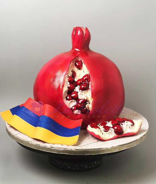 Торт Гранат №569