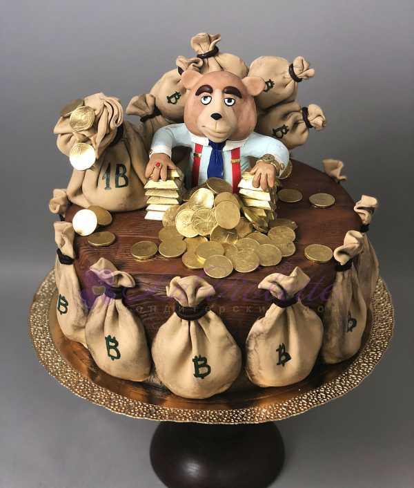Денежный торт №602