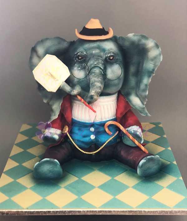 Торт слон №622