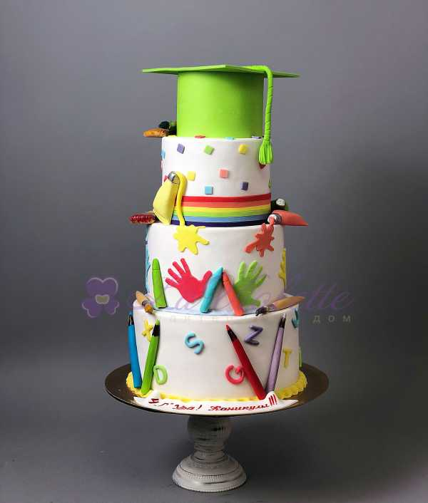 Торт школьник №627