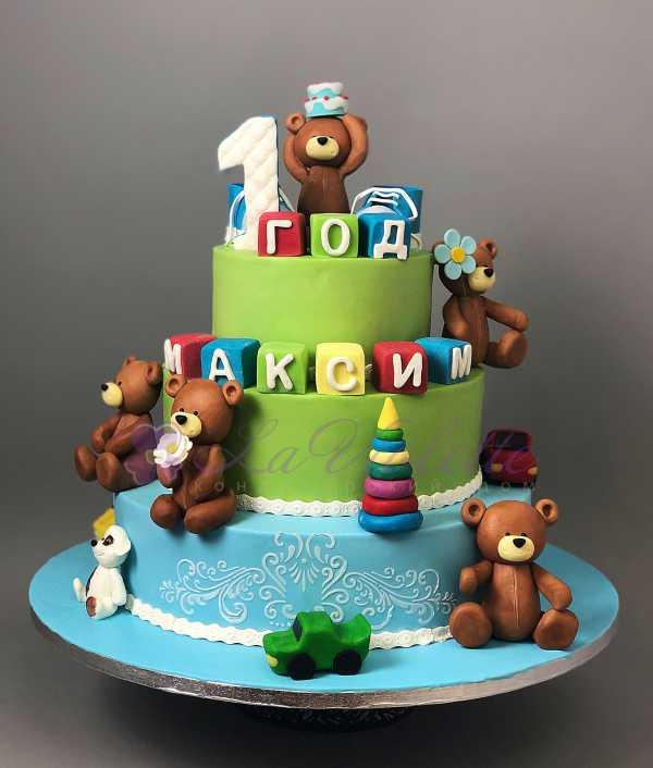 Торт на годик №628