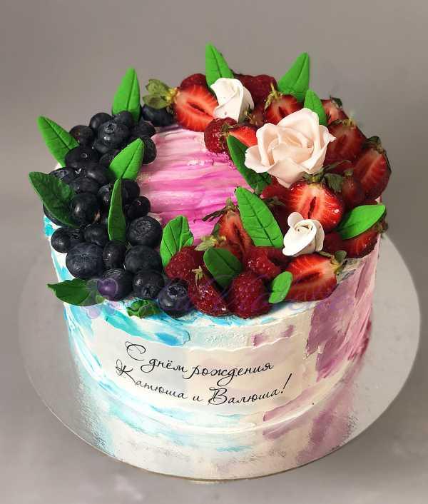 Ягодный торт № 638