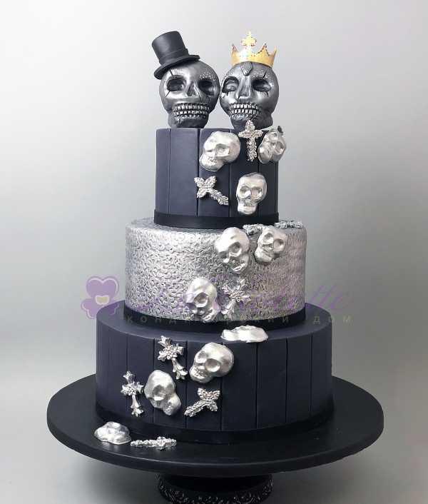 Торт с черепами №647