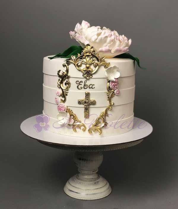 Торт на крещение №655
