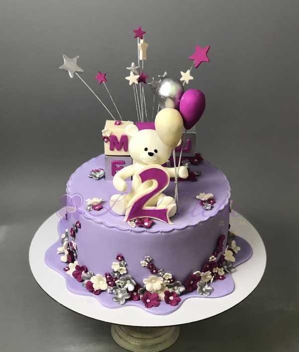 Торт с мишкой №667