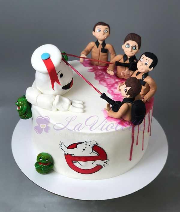 Торт с приведениями №670