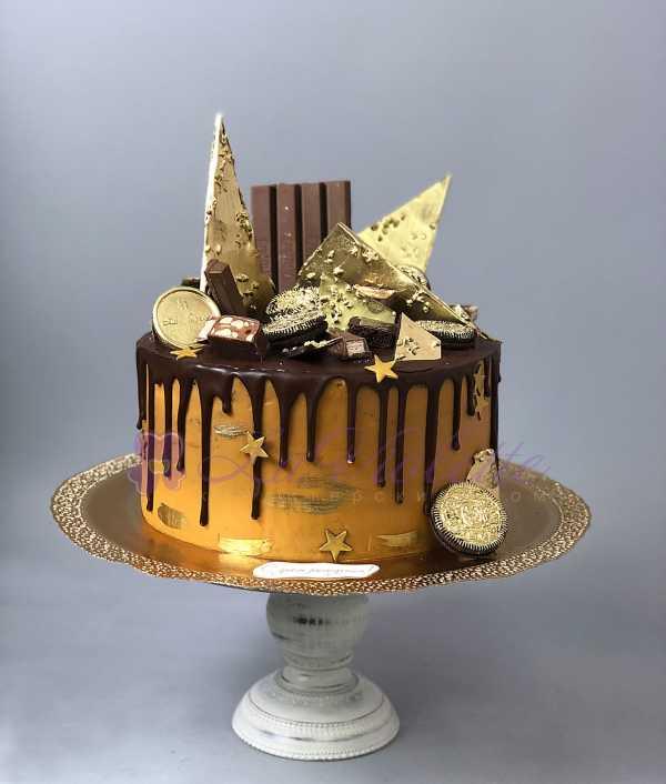 Торт с шоколадками №691