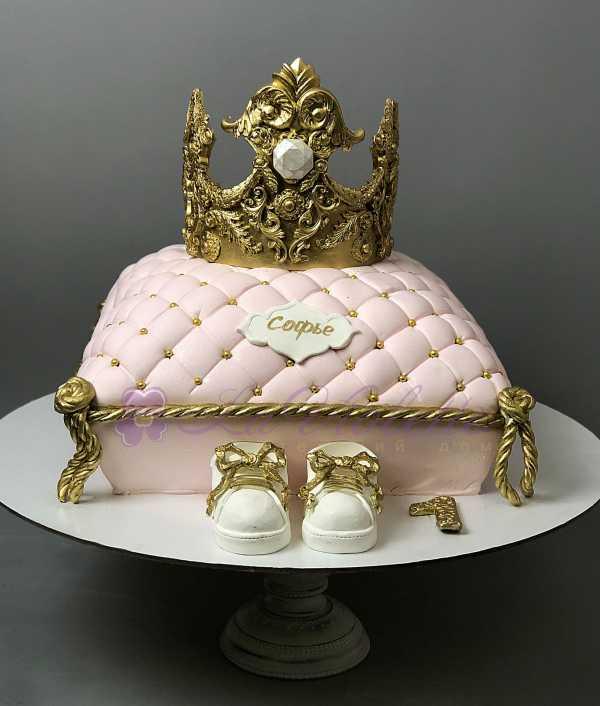 Торт с короной №708