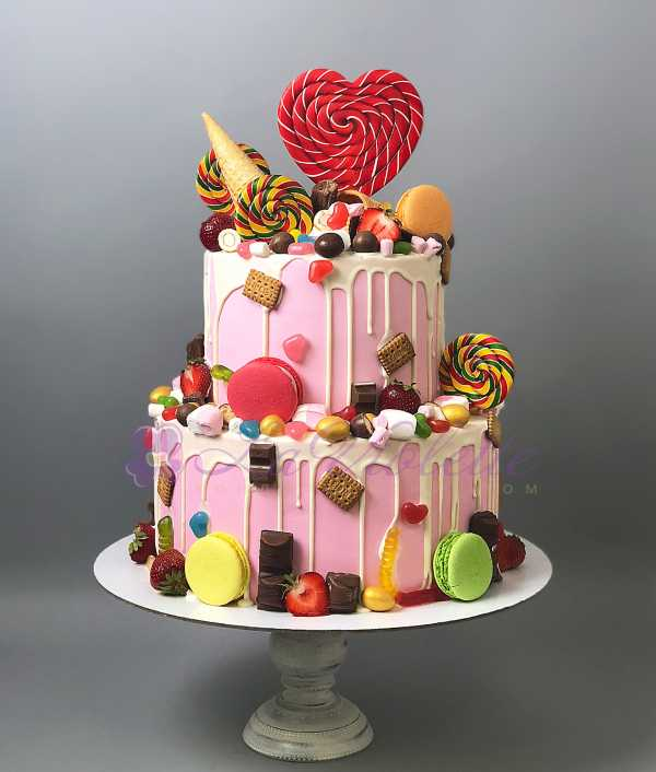 Торт с леденцами №758