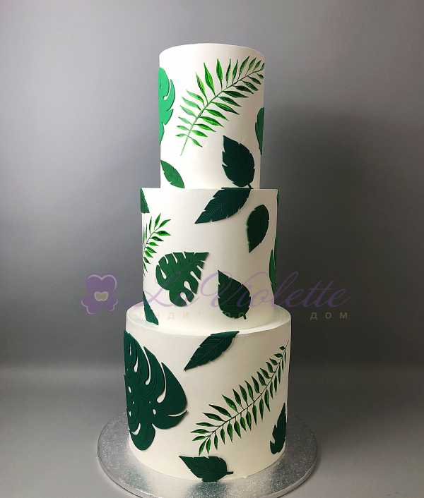 Торт папоротник №760