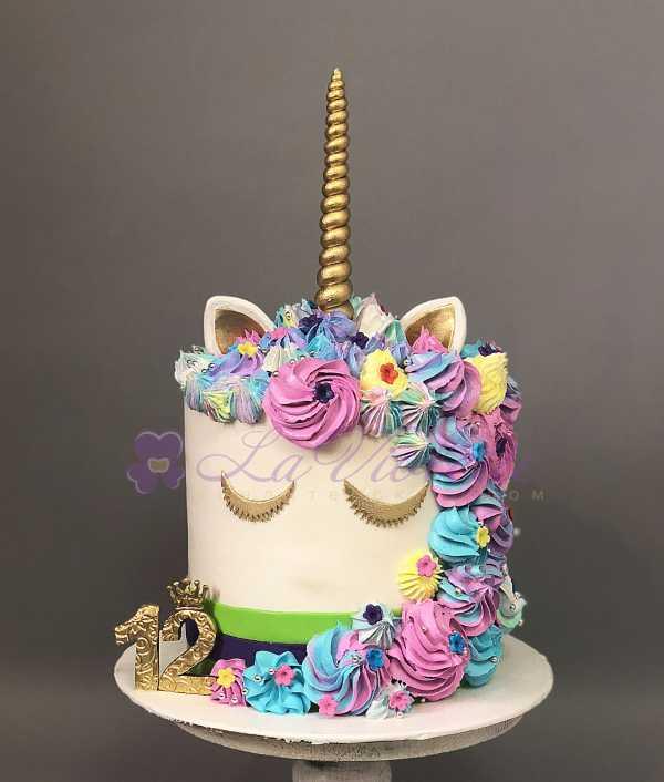 Торт единорог №762