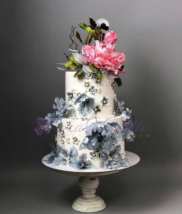 Акварельный торт №767