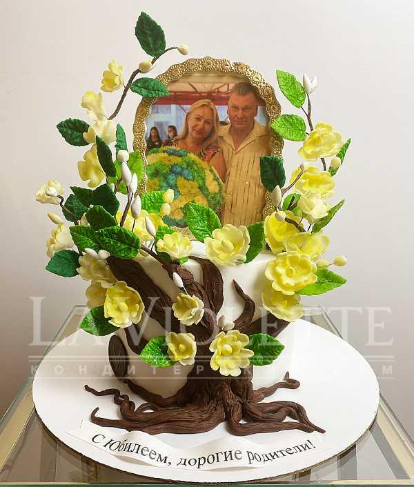 Торт с фото №1175